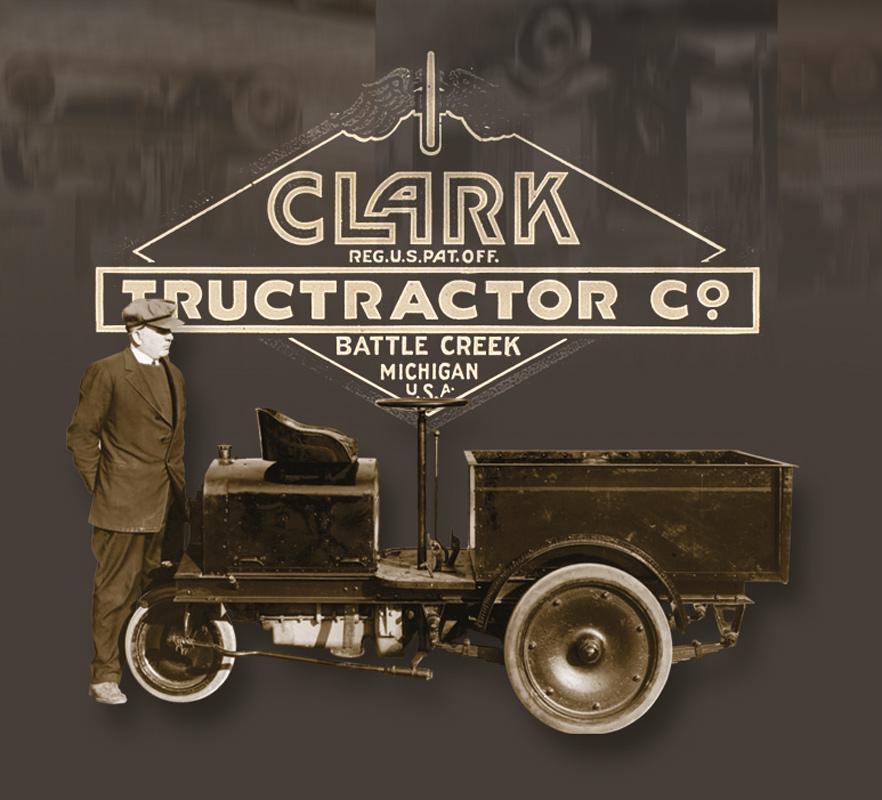 100 Jahre CLARK Gabelstapler - CLARK Europe GmbH