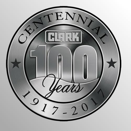 100 years CLARK forklifts