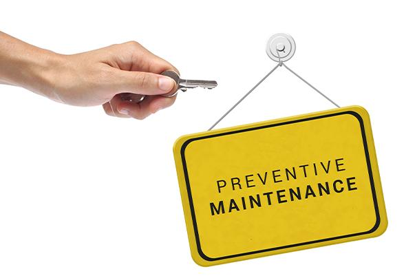 MAINTENANCE PLANIFIÉE