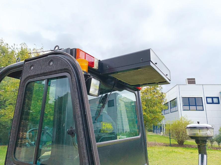 FROM WEATHER PROTECTION TO COMPLETE CAB WITH AIR CONDITIONING