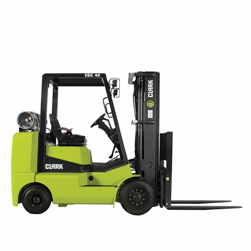 Compact forklift with LPG drive CGC40-70
