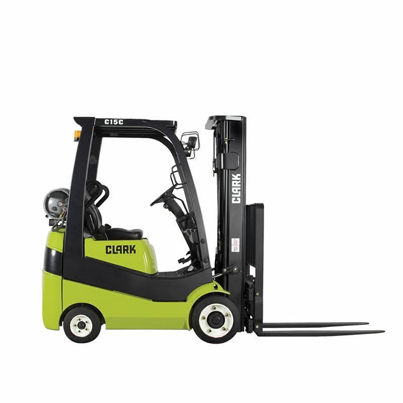 Compact forklift with LPG drive C15-20sC