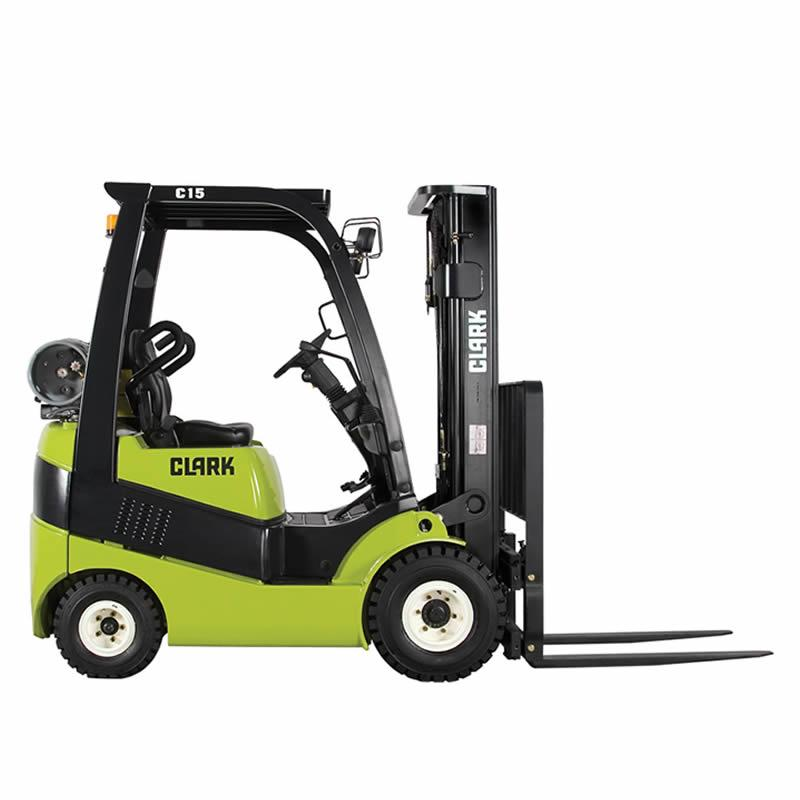 Forklift with diesel or LPG drive C15-20s