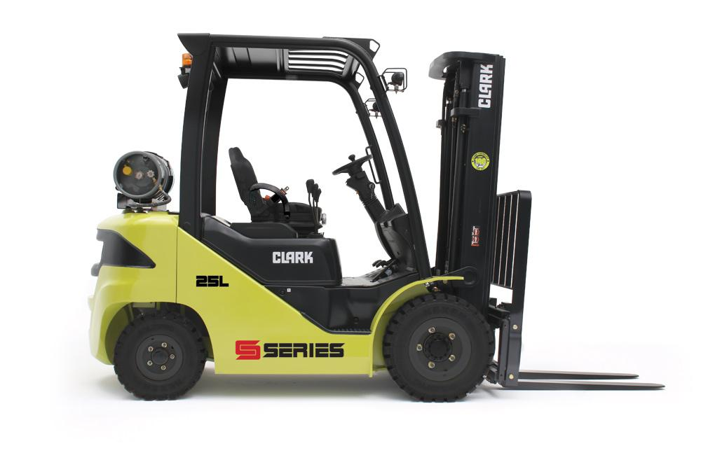 Forklift with diesel or LPG drive S20-35 - CLARK Europe GmbH