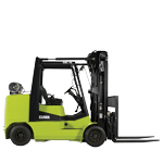 Compact forklift trucks with LPG drive