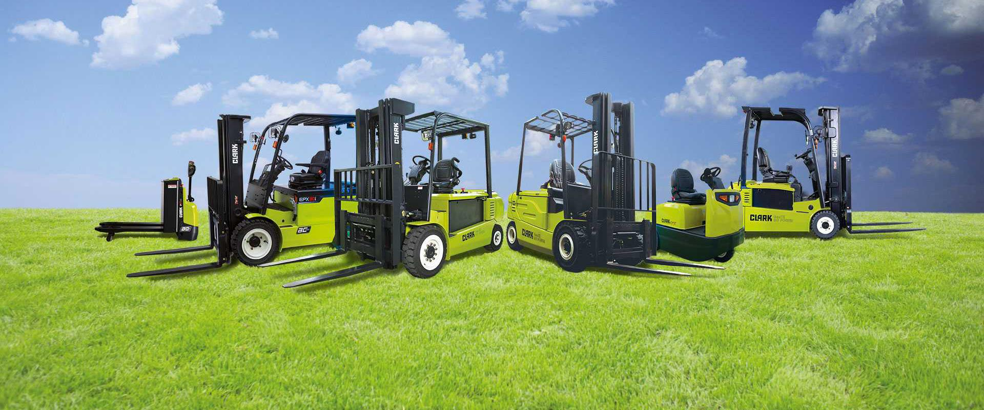 GREEN. CLEAN. EFFICIENT. – THE CLARK ELECTRIC FORKLIFTS