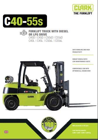 044 Brochure CLARK C40 55s EN 4578282 Stage5