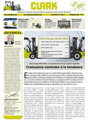 FR CLARK Forklift News 312