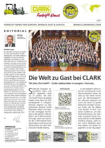 DE Clark Forklift News 217 deu