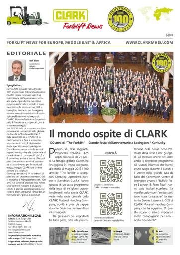 IT Clark Forklift News 217 ita