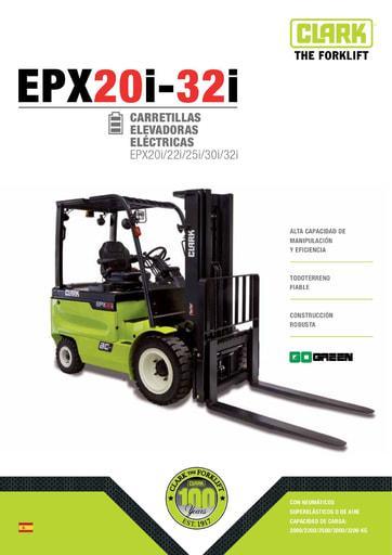 062 Brochure CLARK EPX20i 32i ES 4581975