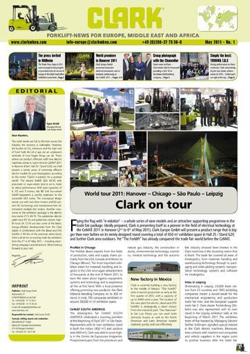 EN CLARK Forklift News 111