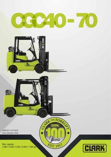 045 Brochure CLARK CGC40 70 EN 4581367