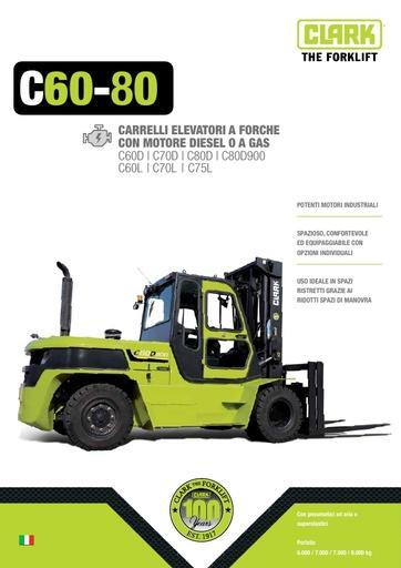 046 Brochure CLARK C60 80 IT B0612I