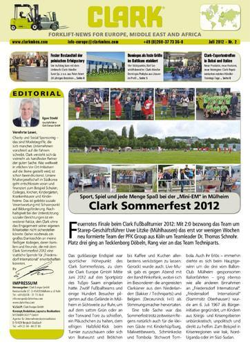 DE CLARK Forklift News 212