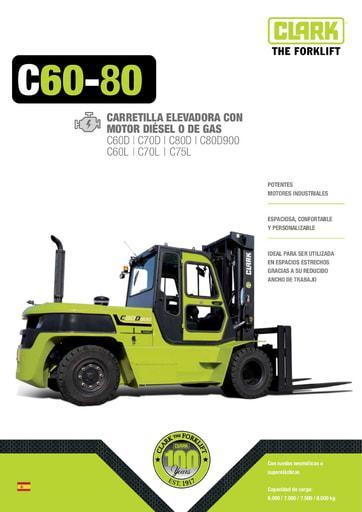 046 Brochure CLARK C60 80 ES 4576726