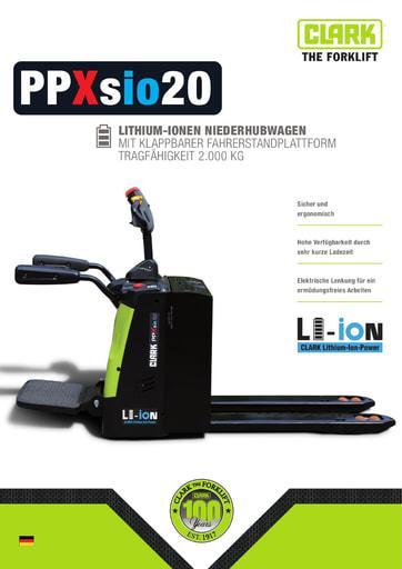 005 Brochure CLARK PPXsio20 DE xxxxxx