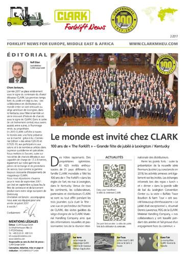 FR Clark Forklift News 217 fra