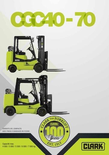 045 Brochure CLARK CGC40 70 FR 4581369