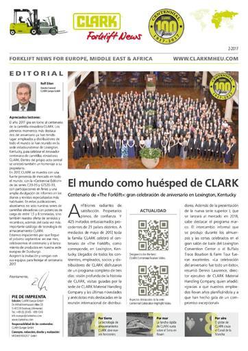 ES Clark Forklift News 217 esp
