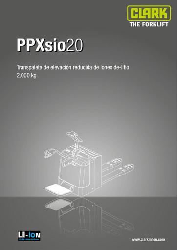 005 SpecSheet CLARK PPXsio20 ES 4583091