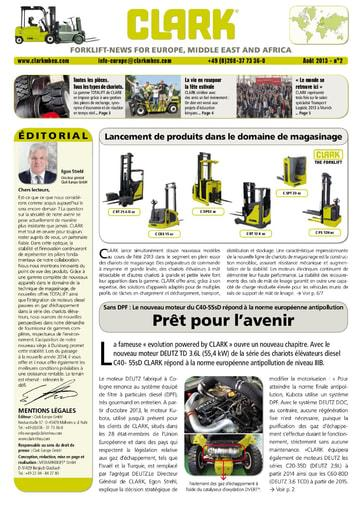 FR CLARK Forklift News 213