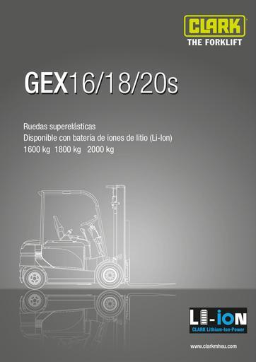 061 SpecSheet CLARK GEX16 20s ES 4576707