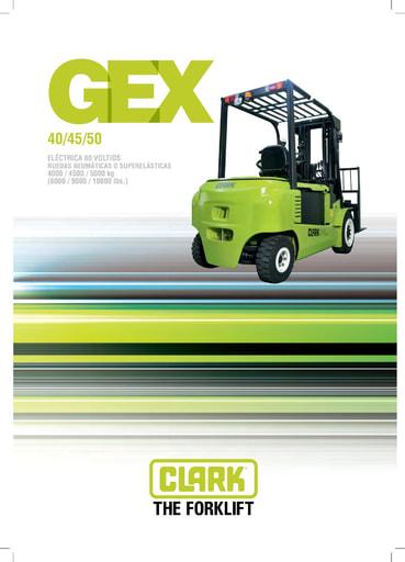063 Brochure CLARK GEX40 50 ES 4578029