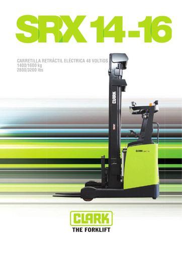 022 Brochure CLARK SRX 14 16 ES 4580188