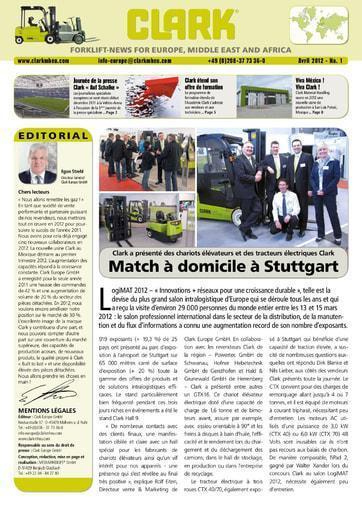 FR CLARK Forklift News 112