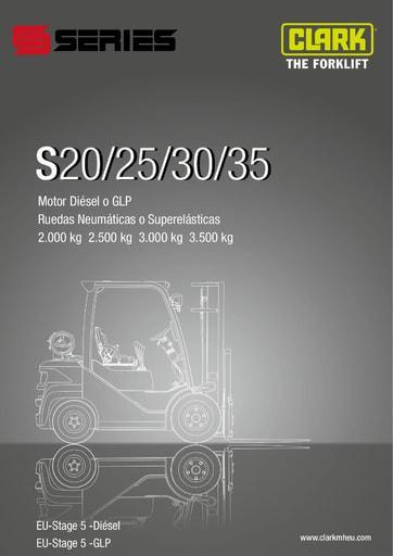 041 SpecSheet CLARK S20 25 30 35 ES 4581175