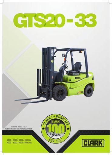 042 Brochure CLARK GTS20 33 ES 4579986