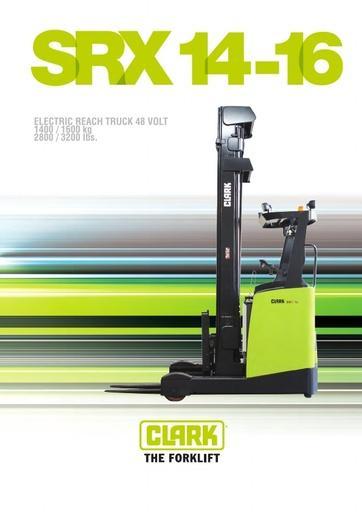 022 Brochure CLARK SRX 14 16 EN 4580186