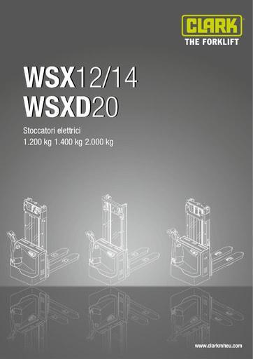 016 SpecSheet CLARK WSX12 WSX20 IT 4582994
