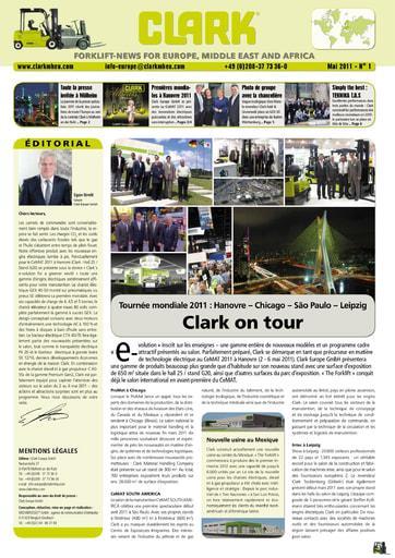 FR CLARK Forklift News 111
