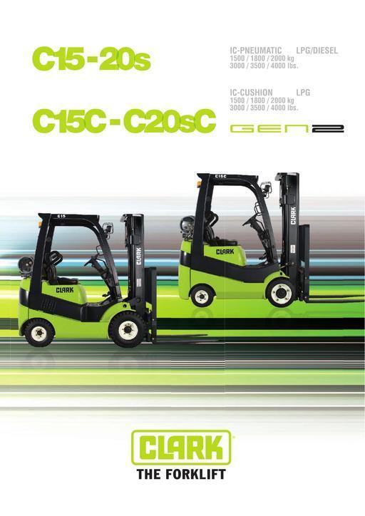040 Brochure CLARK C15 20s EN B0510E
