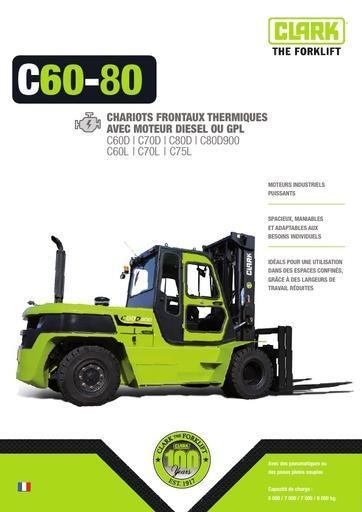 046 Brochure CLARK C60 80 FR B0612F