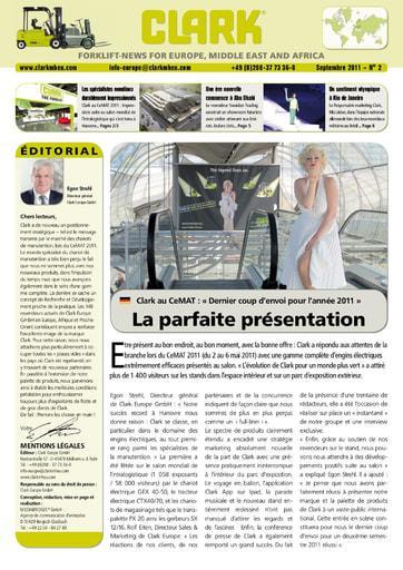 FR CLARK Forklift News 211