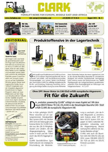 DE CLARK Forklift News 213