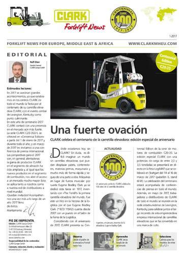 ES Clark Forklift News 117 esp