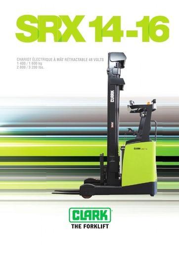 022 Brochure CLARK SRX 14 16 FR 4580187