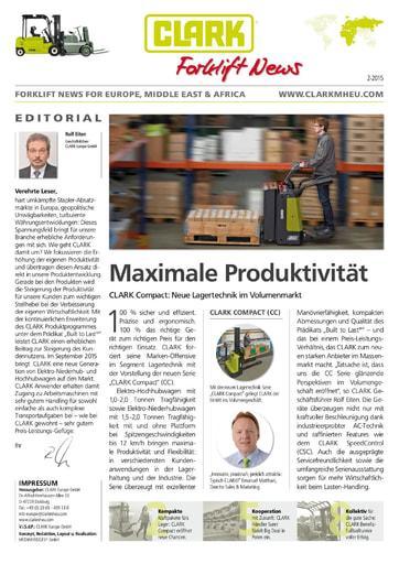DE CLARK Forklift News 215