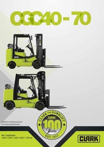 045 Brochure CLARK CGC40 70 DE 4581368