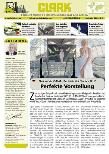 DE CLARK Forklift News 211