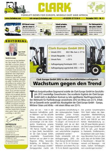 DE CLARK Forklift News 312