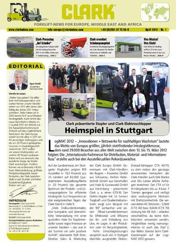 DE CLARK Forklift News 112