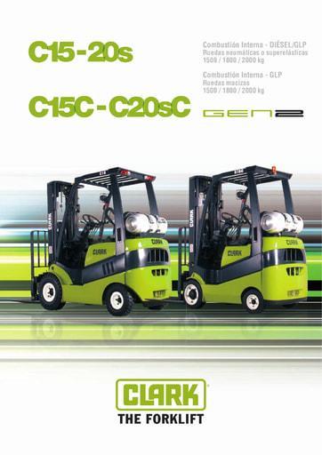 040 Brochure CLARK C15 20s ES 4576723