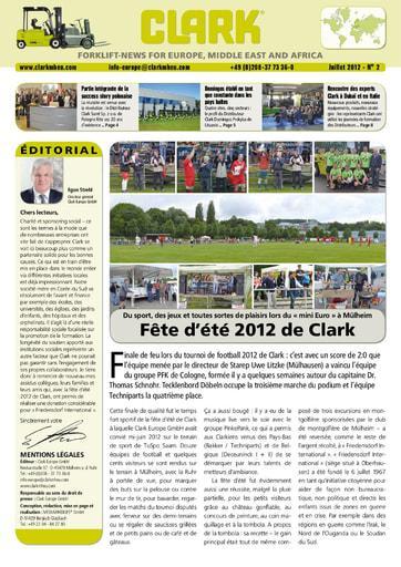FR CLARK Forklift News 212