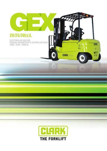 061 Brochure CLARK GEX 20 30 ES 4576728