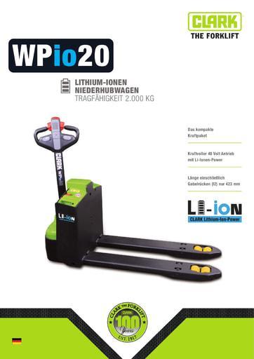 004 Brochure CLARK WPio20 DE 4582213